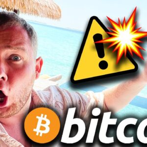 🚨 URGENT!!!!!! 🚨  DON'T TRADE BITCOIN UNTIL YOU WATCH THIS VIDEO!!!!!!!!!!
