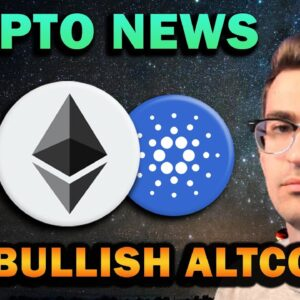 BIG CRYPTO NEWS!! Chainlink Bullish, Cardano Updates, Ethereum to Flip Bitcoin?