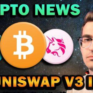 HUGE CRYPTO NEWS!! Uniswap V3, PancakeSwap, NFTs