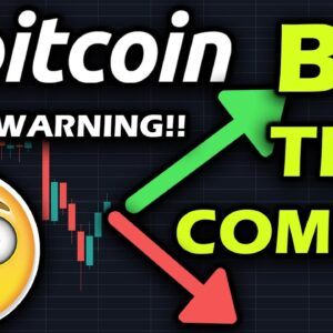 MAJOR TEST FOR BITCOIN!!! LONG BITCOIN IF IT REACHES THIS PRICE BY NEXT WEEK!! FURTHER PULLBACK??