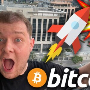 IT'S TIME!!!!!!!! BITCOIN WILL BREAK NEW ALL TIME HIGHS TODAY!!!!!!!!!!!!!!!!!!!!!!