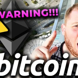 🛑 EMERGENCY TO ALL BITCOIN HOLDERS 🛑 SOMETHING INSANE IS HAPPENING TO BITCOIN RIGHT NOW!!!!!!!!!