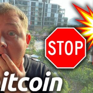 THIS IS EXTREMELY CRAZY FOR THE BITCOIN PRICE RIGHT NOW!!!!!!!!!!