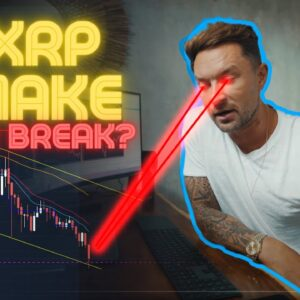 XRP Price At A Make Or Break Level - My Prediction Concerns are Real