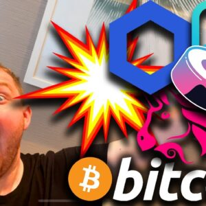 ⚠️ WARNING TO BITCOIN BULLS ⚠️ ALTCOINS ARE VERY VERY CLOSE TO AN EXPLOSIVE PUMP [here's why]