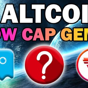 3 Low Cap ALTCOIN GEMS (Top Picks for HUGE GAINS)