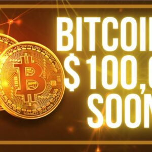 Bitcoin to $100K soon! Ethereum To $5K?