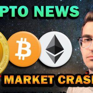 CRYPTO MARKET CRASH!! Don't Panic! DOGE Dump, ETH new ATH!