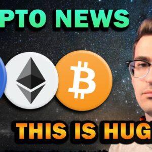 HUGE CRYPTO NEWS!! Bullish Altcoins and Mass Adoption
