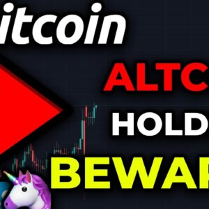 WARNING TO ALL ALTCOIN HOLDERS!!!!! Bitcoin Could EXPLODE In Price Any Day & Destroy Altcoins!!!