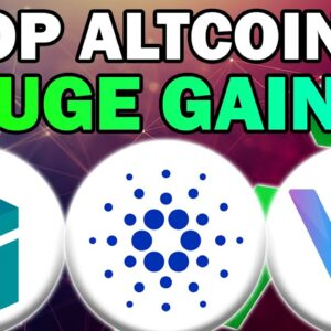 HUGE CRYPTO AND ALTCOIN NEWS!! Cardano, VeChain and Zilliqa (Best Coin Analysis 2021)