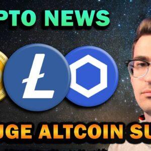 CRYPTO NEWS - ALTCOIN SURGE IMMINENT!!