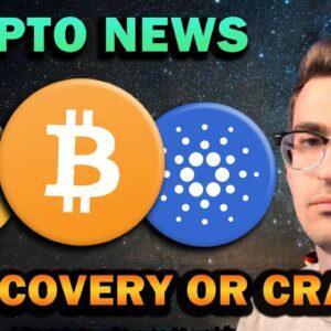 CRYPTO NEWS - RECOVERY OR CRASH?