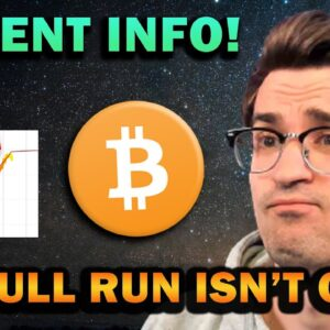 PEAK BULL RUN IS YET TO COME (Crypto Crash Explained)