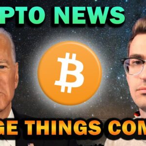 THIS IS HUGE FOR CRYPTO - $6 TRILLION BIDEN PROPOSAL