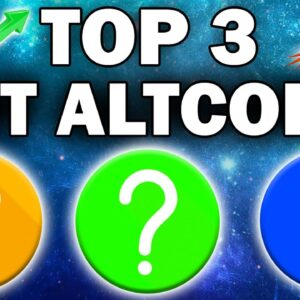 TOP 3 ALTCOINS I AM WATCHING RIGHT NOW (Crypto Bull Run 2021)