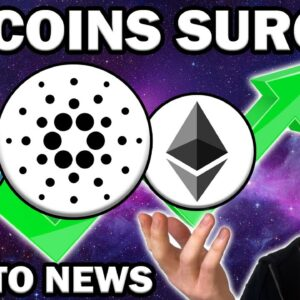 TOP ALTCOINS That Are PUMPING Right Now! ADA ETH VET Crypto Analysis