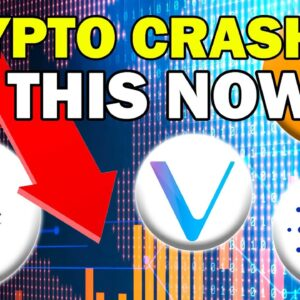 URGENT!! What You NEED To Do NOW DURING THE DIP! (Crypto Crash 2021)