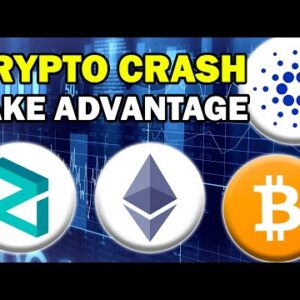 What I'm Doing RIGHT NOW During the Crash (Crypto Crash 2021)