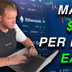 Simple Method To Make $100 A Day Trading Cryptocurrency As A Beginner | Binance Tutorial Guide