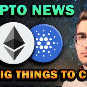 Cardano Huge Partnership, DOGE Coinbase Listing, Ethereum Bullish