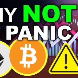 Why You Shouldn't Panic Sell (BULLISH News for Crypto)