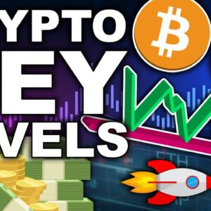 Bitcoin and Ethereum Hit Key Levels (Important for Crypto Traders)