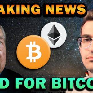 CRYPTO BREAKING NEWS & BITCOIN WALL STREET ADOPTION