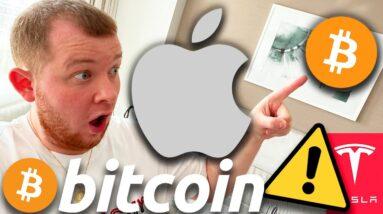 ⚠️ $100,000 BITCOIN IMMINENT!!!! ⚠️ APPLE WILL BE NEXT TO BUY BITCOIN & FOLLOW TESLA!!!!!!!!!!!!