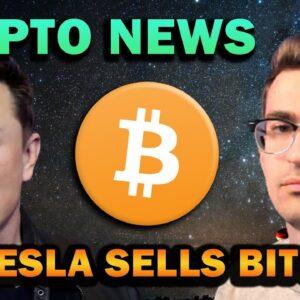CRYPTO BREAKING NEWS! Elon Musk Sells Bitcoin? (Why it's bullish)