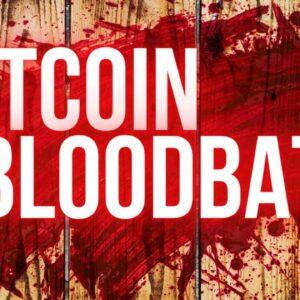 Massive Crypto Blood Bath! How To Play The Bitcoin Dip