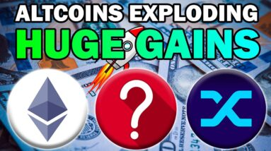 New Highs for Bitcoin and Ethereum! ALTCOINS EXPLODING (DOGE, XRP + MORE!)