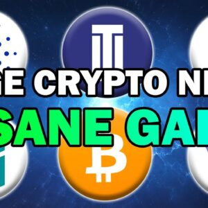 HUGE CRYPTO NEWS!! Bitcoin, Ethereum and ALTCOINS to PUMP SOON! (Crypto Analysis 2021)