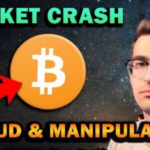 CRYPTO MARKET CRASH AND MANIPULATION 📉