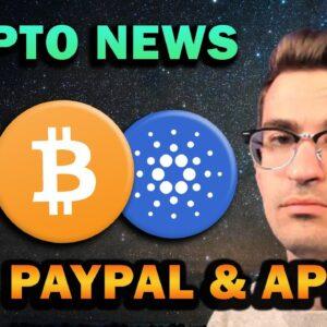 HUGE CRYPTO NEWS - APPLE AND PAYPAL, RIPPLE, POLYGON, BITCOIN ETF