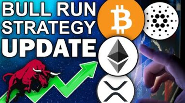 URGENT CRYPTO BULL RUN UPDATE: My EXACT Altcoin Strategy 2021