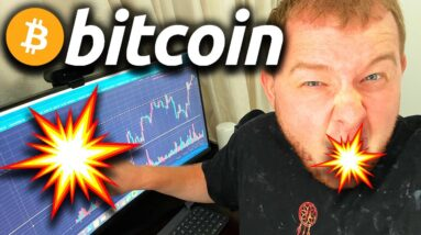 🤬 HUUGE ALERT TO ANYONE SHORTING BITCOIN RIGHT NOW!!!!!!!!!!!!!