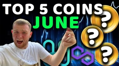 TOP 5 COINS TO EXPLODE IN JUNE 2021 (MOON POTENTIAL)