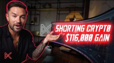 Pro Day Trader Goes Short Bitcoin Bull Run For $116,000 Profit 🤯