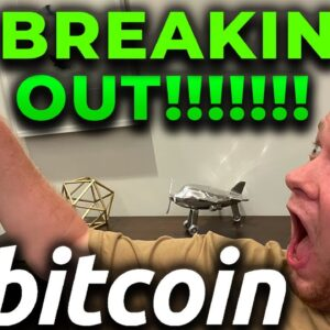 🚨BEARS BE WARNED!!!!! BITCOIN IS BREAKING OUT RIGHT NOW TO HISTORIC LEVELS!!!!!!!!!!!!!