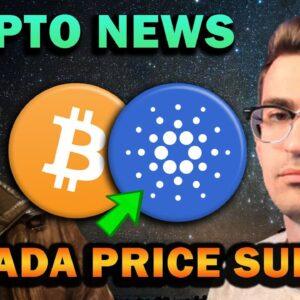 CRYPTO NEWS - CARDANO PRICE SURGE, NFT BOOM COMING
