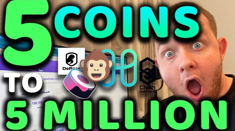 📈 5 COINS TO 5 MILLION!!!!!!!! UNDERVALUED COINS SET TO EXPLODE IN SEPTEMBER 100X!!!!!!!!!!