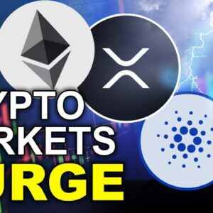 Crypto Markets SURGE! Watch out for these Key Levels for BTC ETH XRP ADA + MORE!!