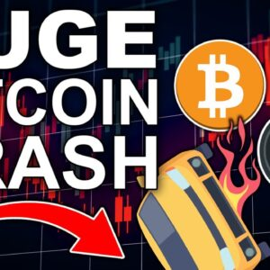 Bitcoin CRASHES in 3 Minutes! (Important Next Steps for Crypto and Altcoins 2021)
