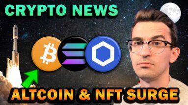 CRYPTO NEWS - El Salvador BTC, Altcoin Surge, NFT Adoption