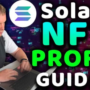 🚀 Easily Become A Millionaire From Solana NFT's As A Beginner In 2021 | Solanart Guide Tutorial!!!!
