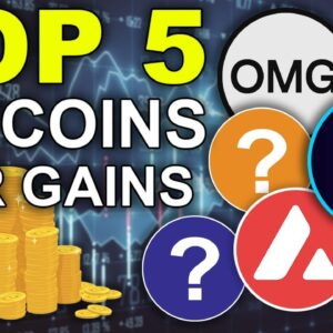 Turn $1k into $50k with THESE 5 Altcoins!!! (Crypto Bull Run 2021!)